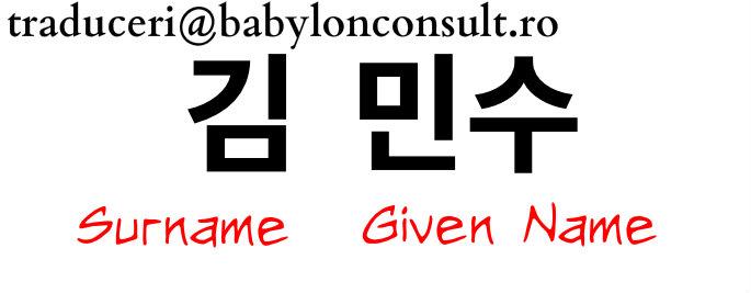Korean-Name-Structure